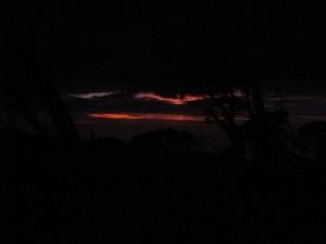 Prima foto dell'alba